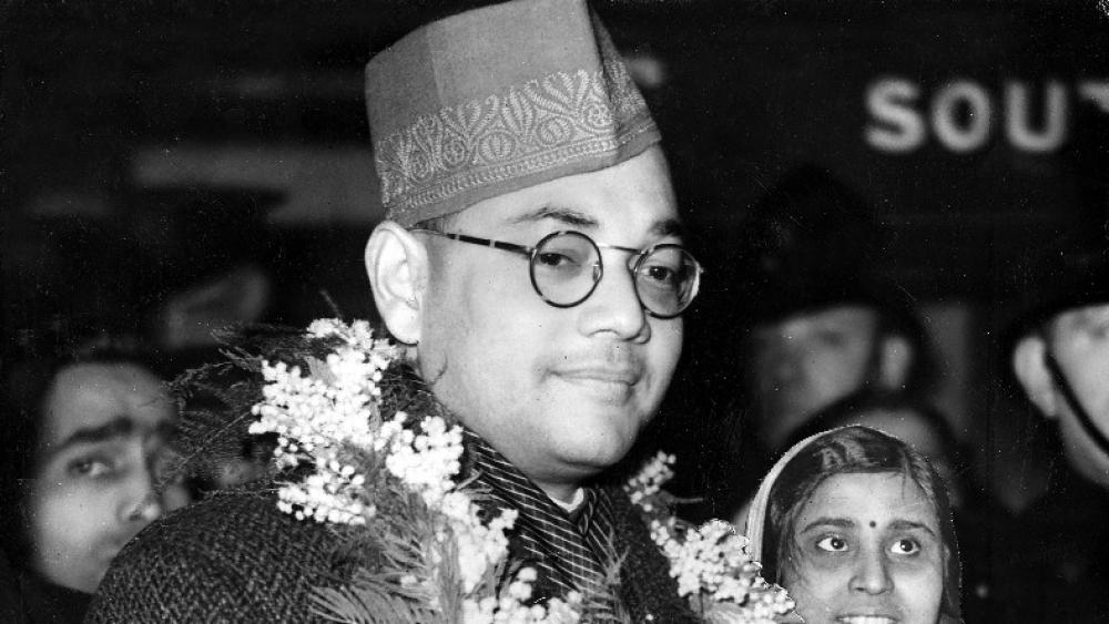 A file photo of Subhas Chandra Bose