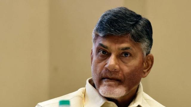 File photo of Andhra Pradesh Chief Minister and President of Telugu Desam Party Nara Chandrababu Naidu
