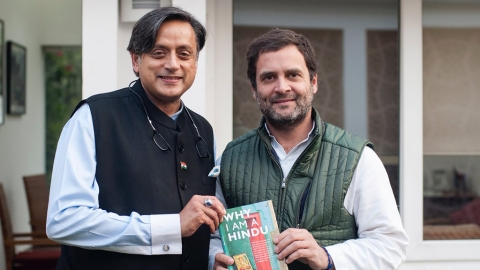 Shashi Tharoor: 'Competitive communalism' the agenda of 'party of Hindutva'
