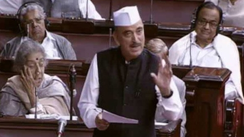 Ghulam Nabi Azad slams PM Modi's politics of fear in the Rajya Sabha