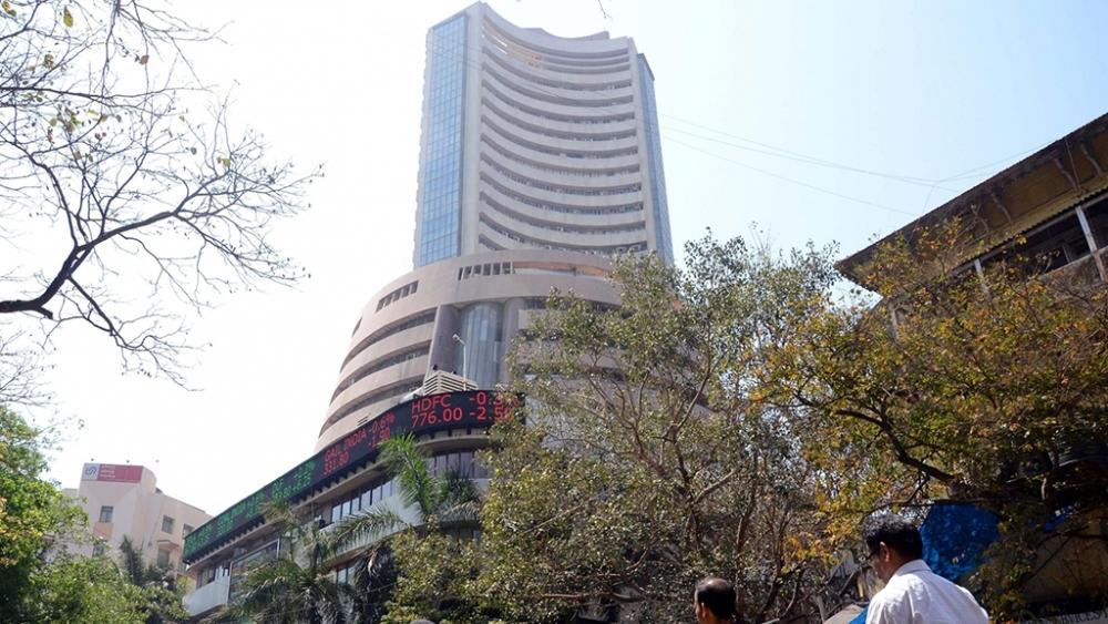 File photo of the Bombay Stock Exchange
