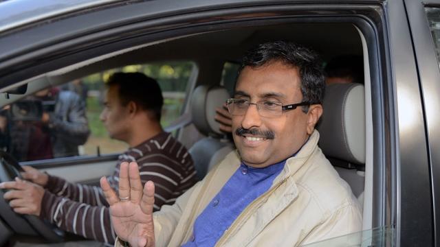 File photo of BJP National General Secretary Ram Madhav