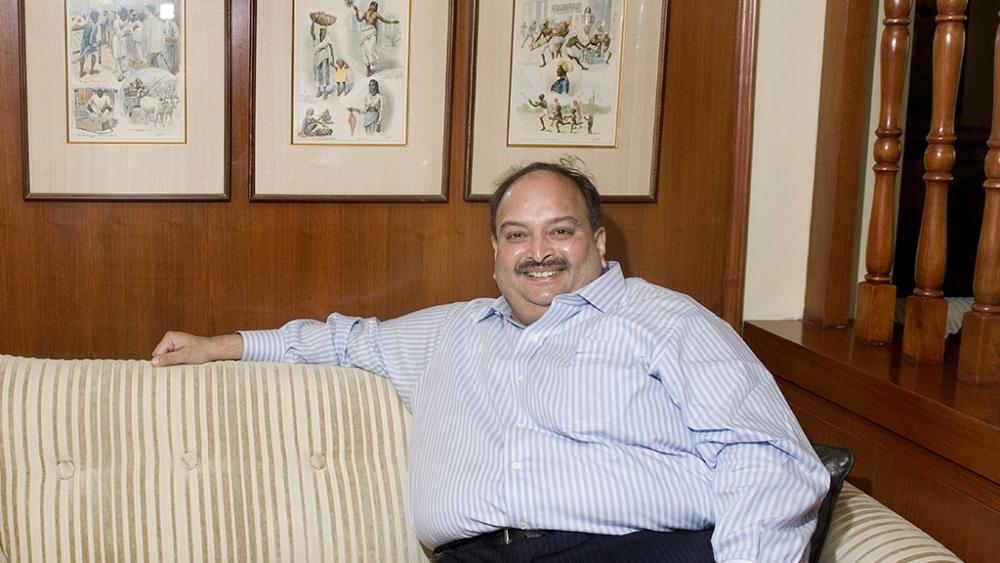 File photo of diamond trader Mehul Choksi
