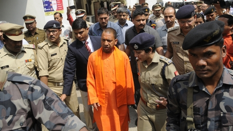 What stops Yogi Sarkar from ordering a CBI probe into encounters?