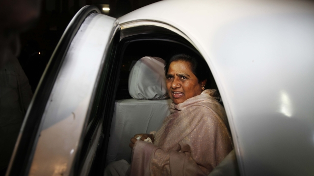 There are reports which have been indicative of Mayawati's nervousness over Jignesh and Chandrashekhar coming together