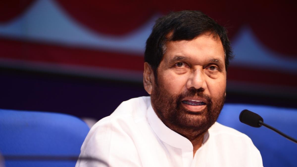 Ram Vilas Paswan says Modi Govt to file review petition against SC-ST Act dilution