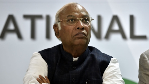 Congress' Kharge receiving threats for months​; Delhi Police clueless