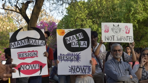 JNUTA begins 'satyagraha', calls for three day varsity strike