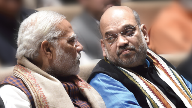 File photo of Prime Minister Narendra Modi and BJP President Amit Shah