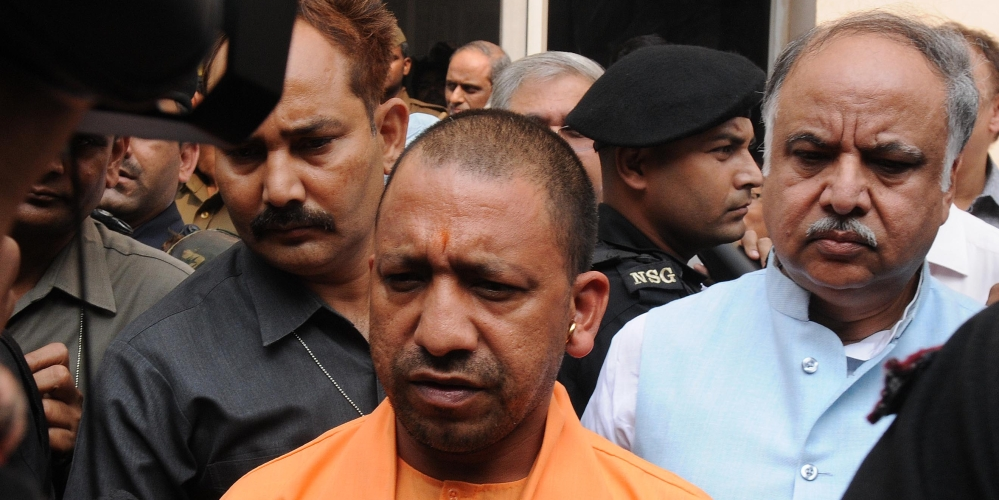 File photo of Uttar Pradesh Chief Minister Yogi Adityanath