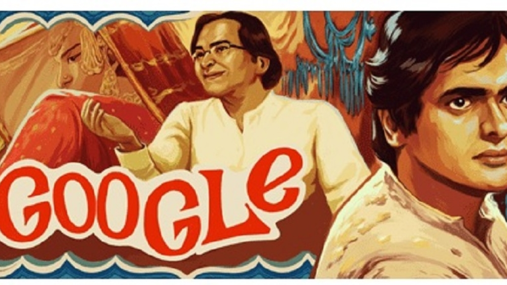 Screengrab of the Doodle from Google India homepage