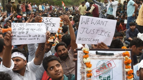 SSC Exam Scam: Job seekers reject SSC's 'requests', to continue protest