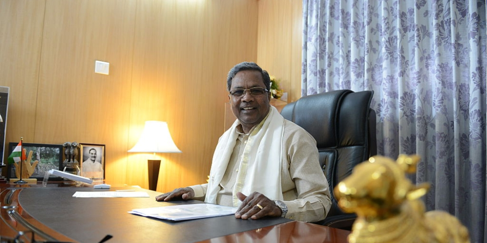 File photo of Karnataka Chief Minister Siddaramaiah