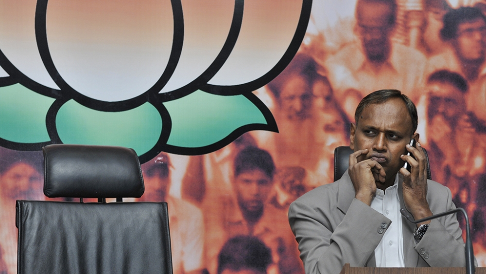 File photo of BJP MP Udit Raj, known for his activism for Dalit rights