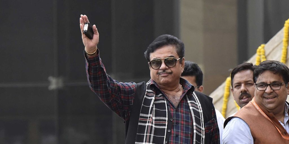 File photo of Bollywood actor-turned BJP MP Shatrughan Sinha