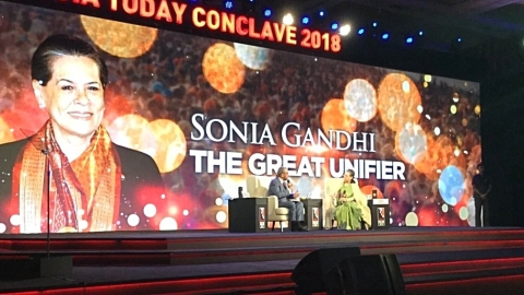 Watch Sonia Gandhi's Q&A in Mumbai and read her full speech
