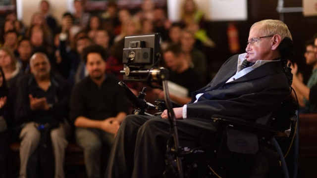 File photo of Stephen Hawking