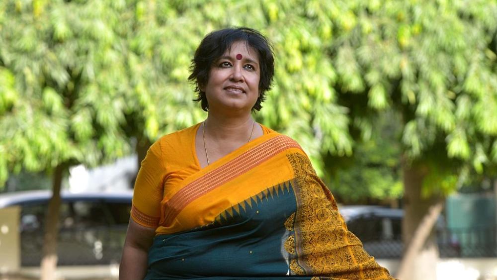 File photo of Bangladeshi author Taslima Nasreen in New Delhi