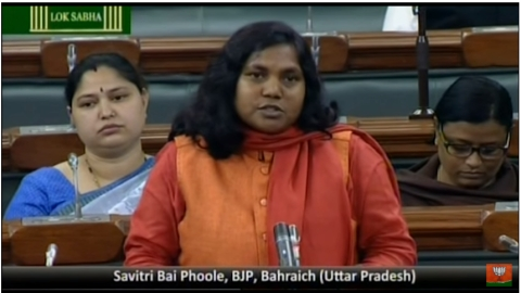 NH Exclusive: Dalit BJP MP Savitri Bai Phule slams Modi Govt