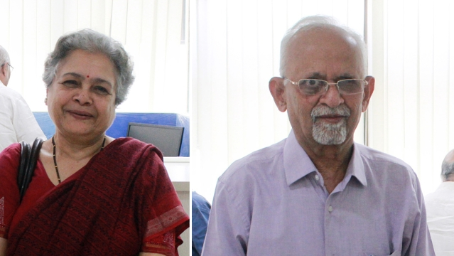 Mrinal Pande (left) appointed Group Senior Editorial Advisor and Zafar Agha appointed Group Editor-in-Chief of National Herald, Navjivan and Qaumi Awaz