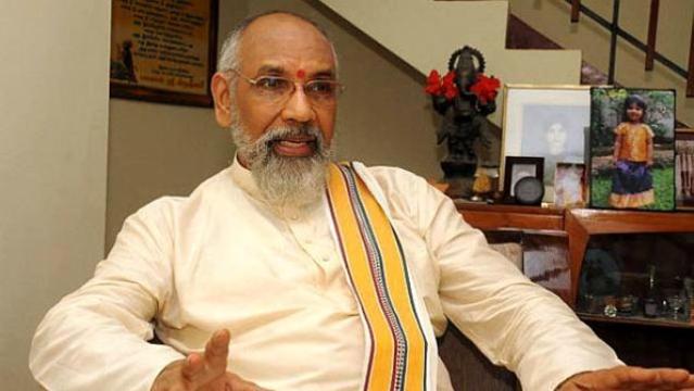 File photo of Tamil Province CM CV Wigneswaran
