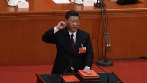Xi Jinping re-elected as China's President for lifetime