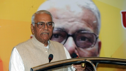 Yashwant Sinha: PM Narendra Modi is responsible for Rafale scam