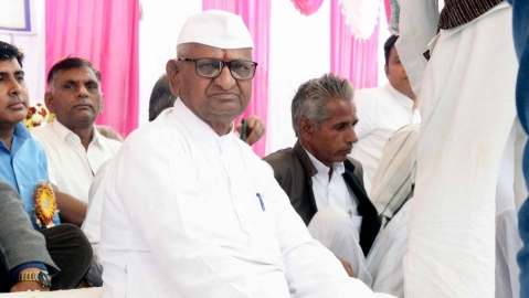Modi not keen on appointment of Lokpal: Anna Hazare