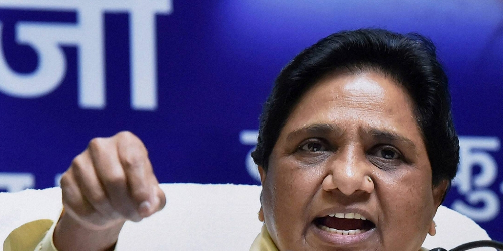 Bahujan Samaj Party chief Mayawati (file photo)