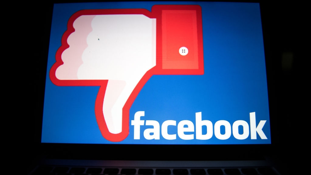 The Facebook logo is seen on a monitor of a computer in Tokyo, Japan on Thursday, March 22. Representative image.