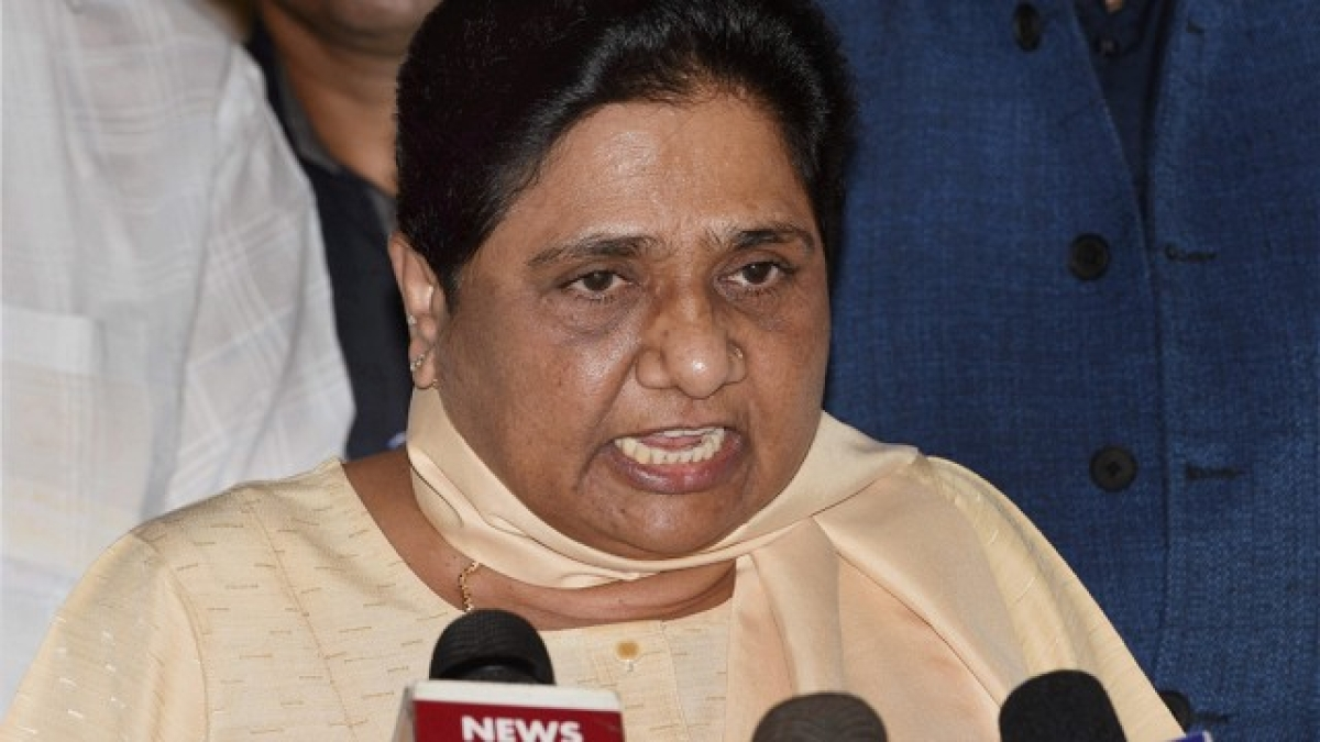 Mayawati: BJP-RSS behind 'Bharat Bandh' against SC/ST Act