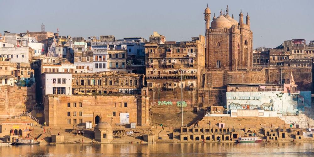 File photo of ghats along the Ganga river at Varanasi