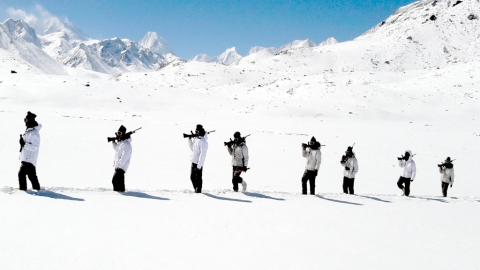 Stunning Himalaya photos tweeted by Indo-Tibetan Border Police