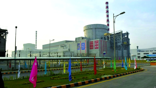 File photo of Pakistan nuclear plant
