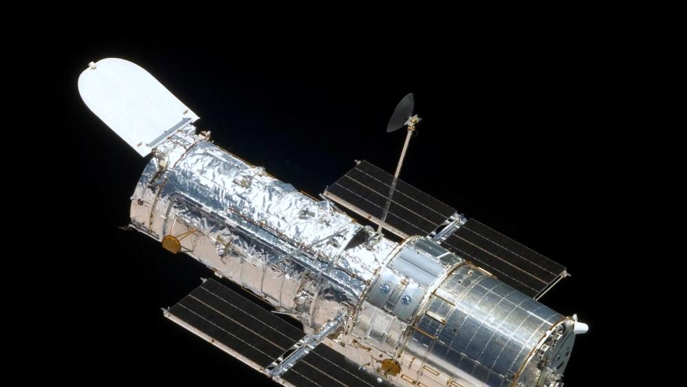 File photo of of NASA's Hubble Space Telescope