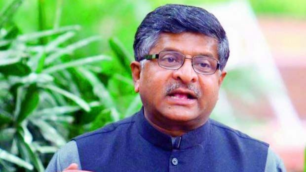 File photo of Union Law Minister Ravi Shankar Prasad
