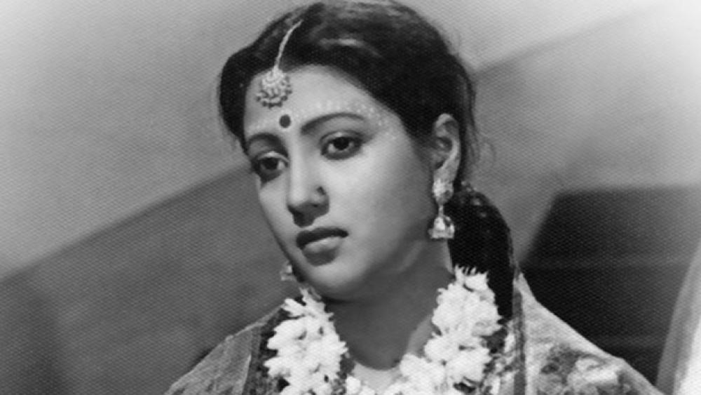 File photo of Suchitra Sen
