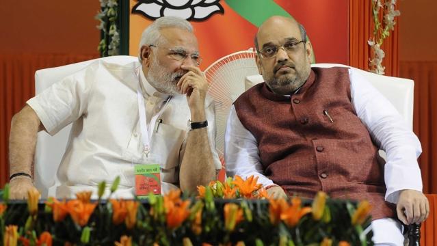 File photo of Prime Minister Narendra Modi with BJP National President Amit Shah