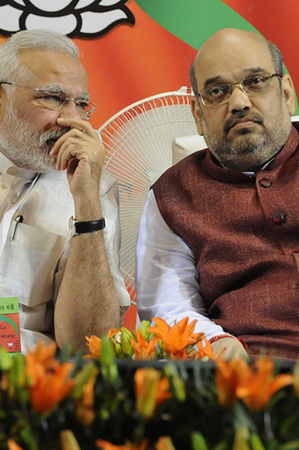 File photo of Prime Minister Narendra Modi with BJP National President Amit Shah