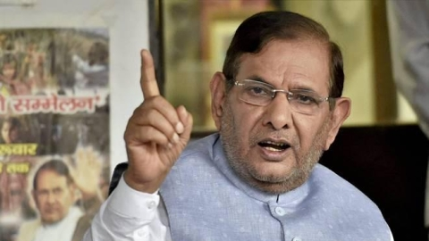 Sharad Yadav: With promise of development BJP came to power and started politics of hatred