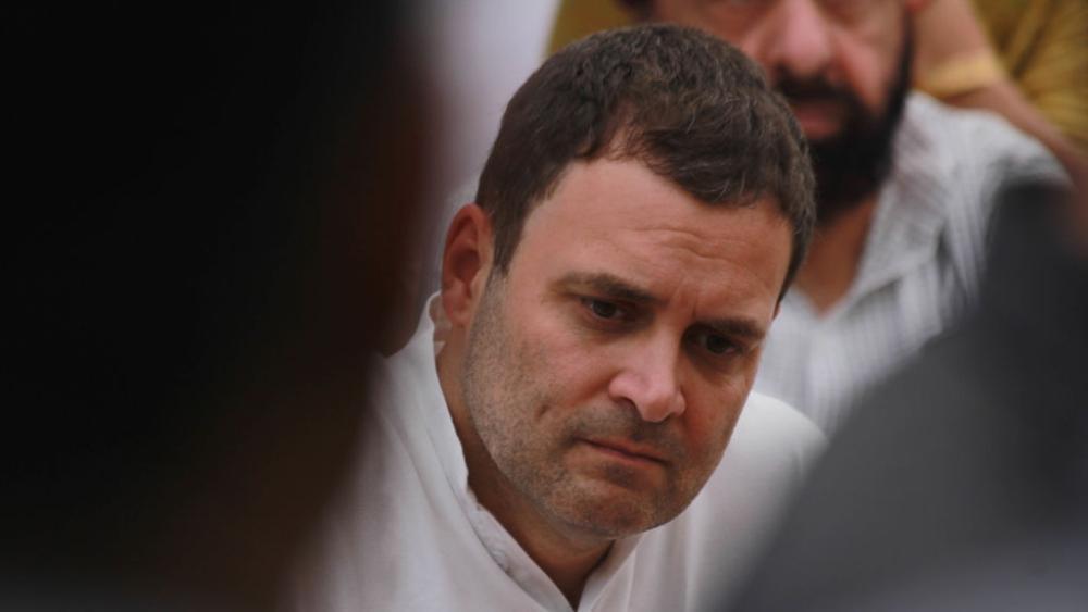 File photo of Congress President Rahul Gandhi