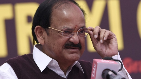 Vice President Venkaiah Naidu misquoted Babasaheb Ambedkar to claim he opposed Article 370