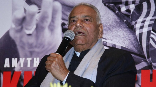 File photo of Yashwant Sinha
