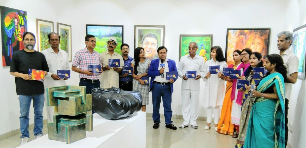 File photo of 20 artists at Garhi Art Gallery at Lalit Kala Akademy