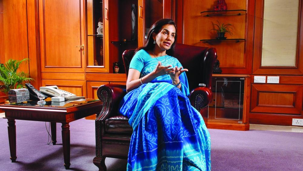 File photo of Chanda Kochhar