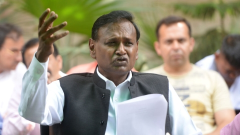 BJP MP Udit Raj calls Bharat Bandh against reservation 'anti-national'