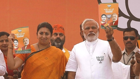 Smriti Irani's controversy-filled journey from textbooks to textiles and I&B