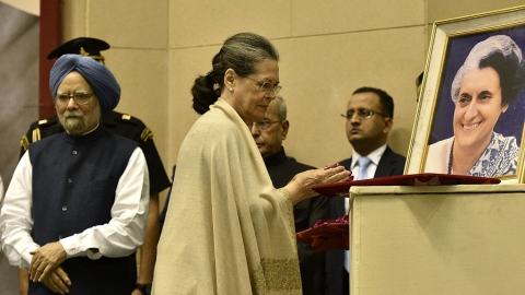 Sonia Gandhi reminisces about  'Indiratchka' in Moscow