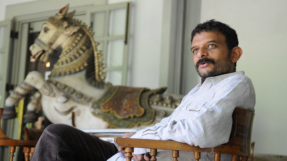 File photo of the author of the book 'Reshaping Art', TM Krishna