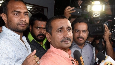 "BJP MLA comes out in support of Kuldeep Sengar, says,""brother Kuldeep going through hard times"""